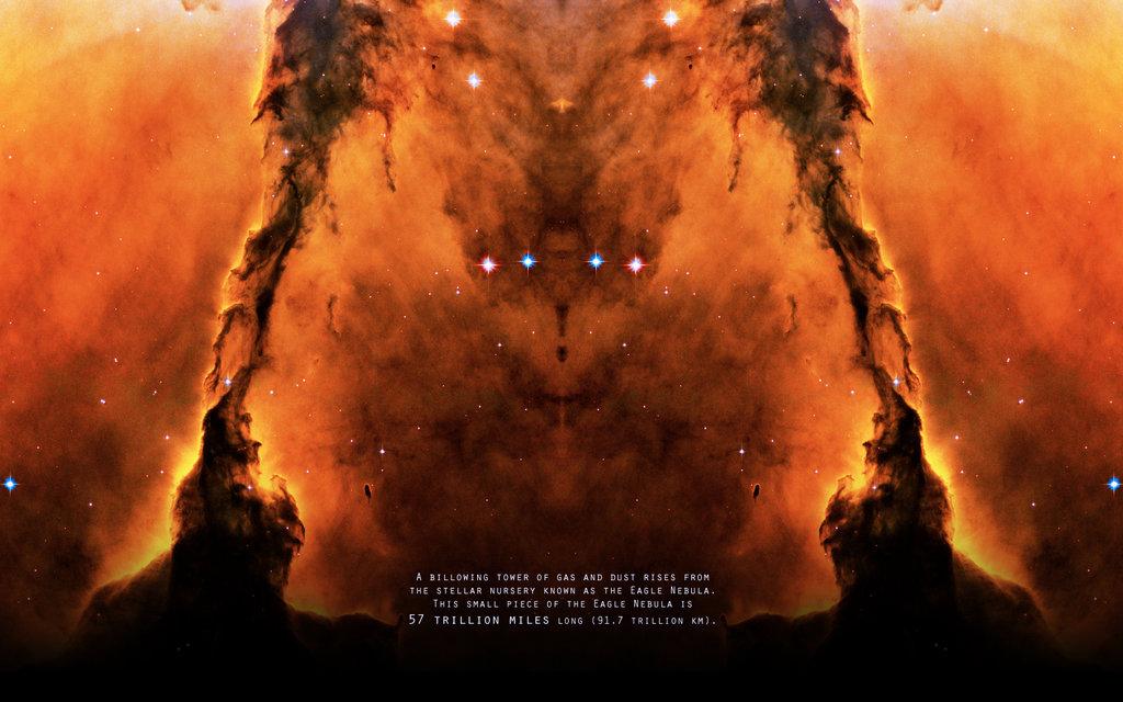 Pillars Of Creation Wallpaper Hd: 1024x640px Eagle Nebula Wallpaper