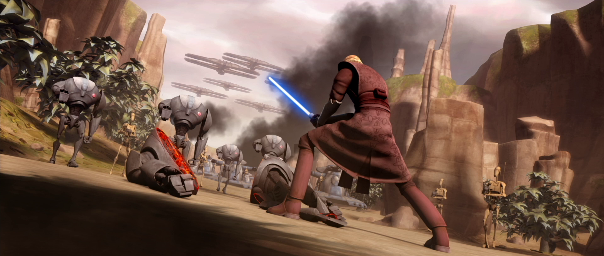 Day 6 of hoping someone would notice the droid army   Album on Imgur 1920x816