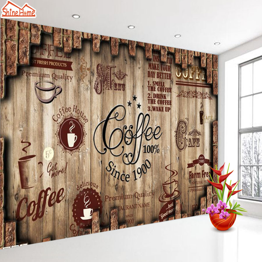 Free Download Shinehome Retro Coffee Tea Time Cafe Store Brick Wallpaper For 3d 900x900 For Your Desktop Mobile Tablet Explore 50 Wallpaper And More Store Wallpaper Stores Near Me