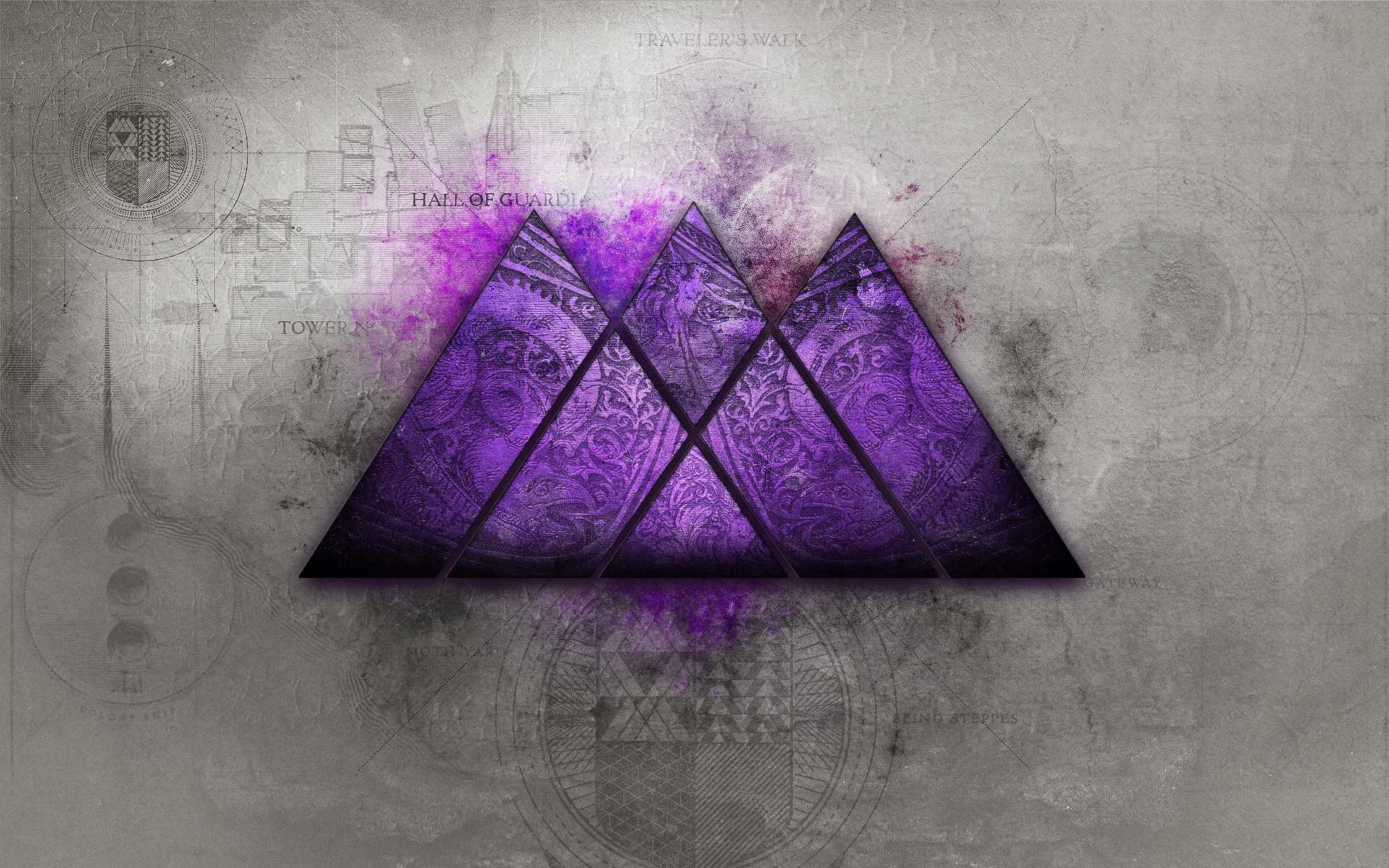 Destiny Wallpaper Series Purple was requested   so heres a purple 1920x1200