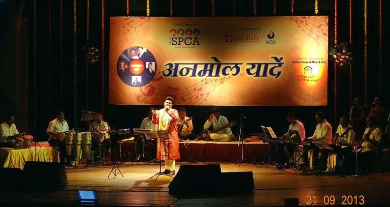 Thane SPCA Musical Nite   Shurjowith musicians 792x421
