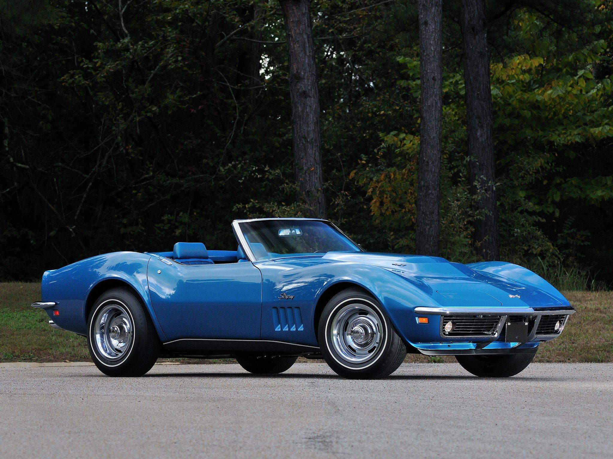 1969 chevrolet corvette stingray l88 427 convertible c 3 muscle