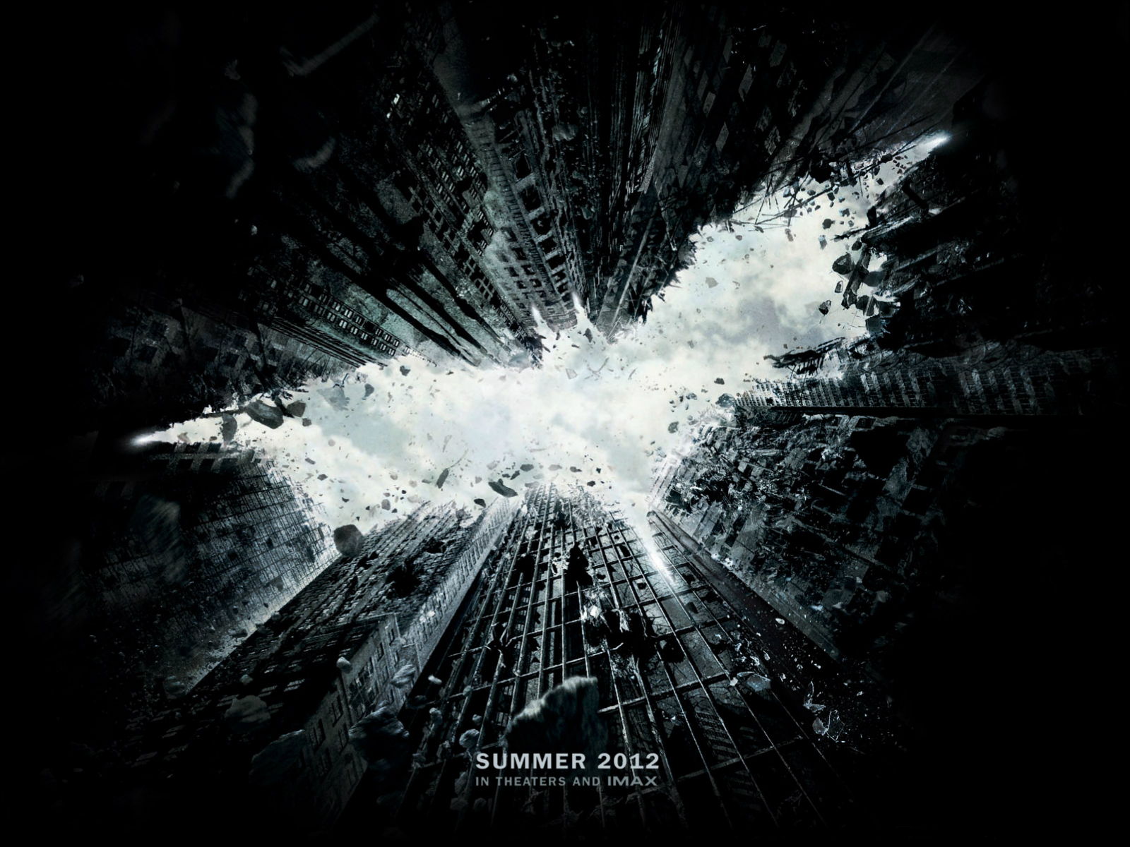 The Dark Knight Rises First Wallpaper Poster   Movie Wallpapers 1600x1200