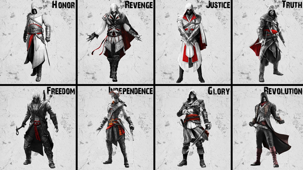 Free Download Assassins Creed All Assassins By Akniazi 1024x576