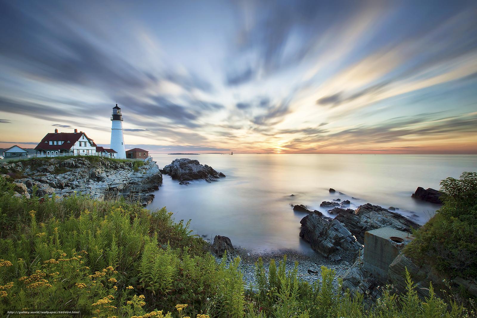 Wallpapersafari: Maine Coast Wallpaper