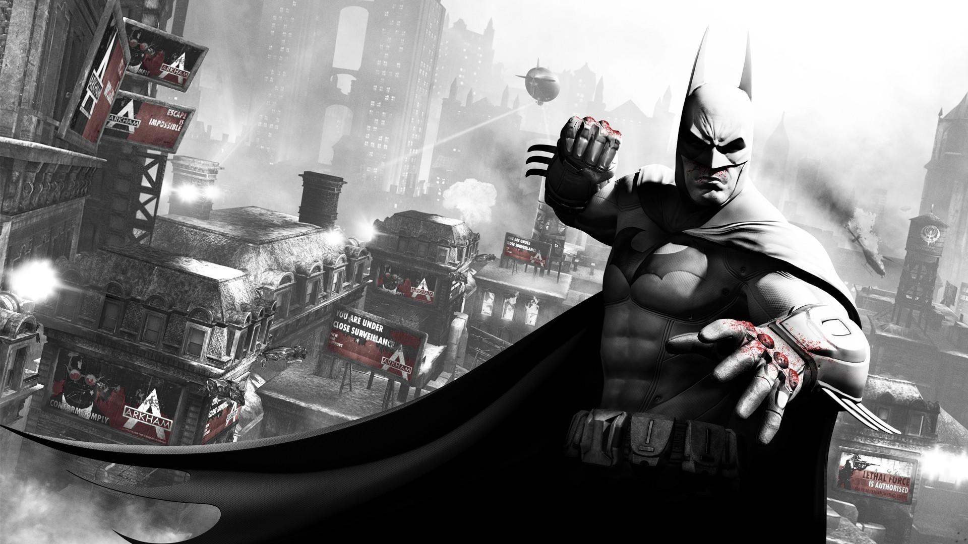 Batman Arkham City Wallpaper Games HD Desktop Wallpapers 1920x1080