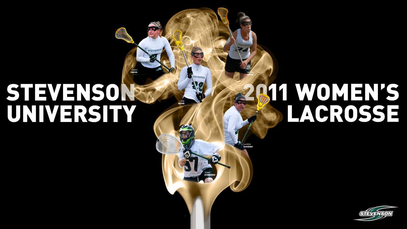 2011 Womens Lacrosse Desktop Wallpaper   Stevenson University 1385x779