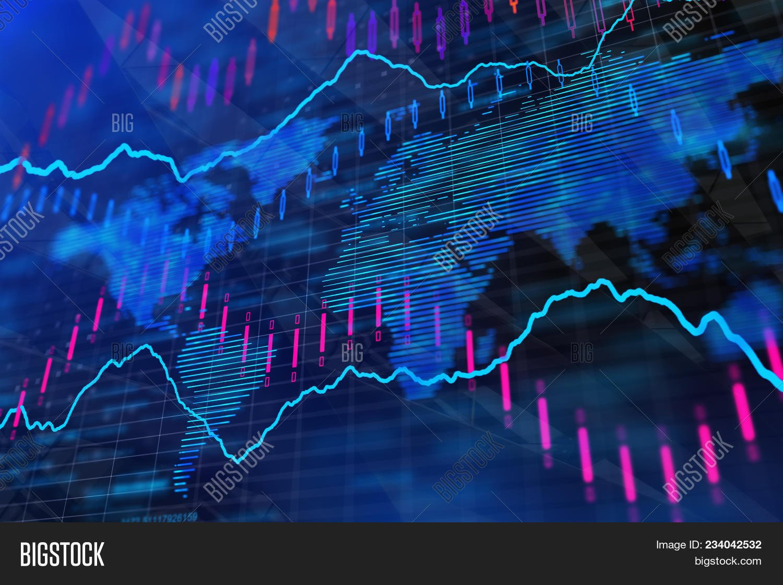 Blue Forex Background Image Photo Trial Bigstock 1500x1120