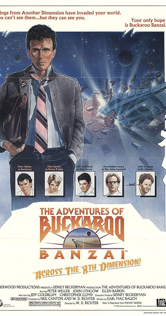 The Adventures of Buckaroo Banzai Across the 8th Dimension 1984 630x1200