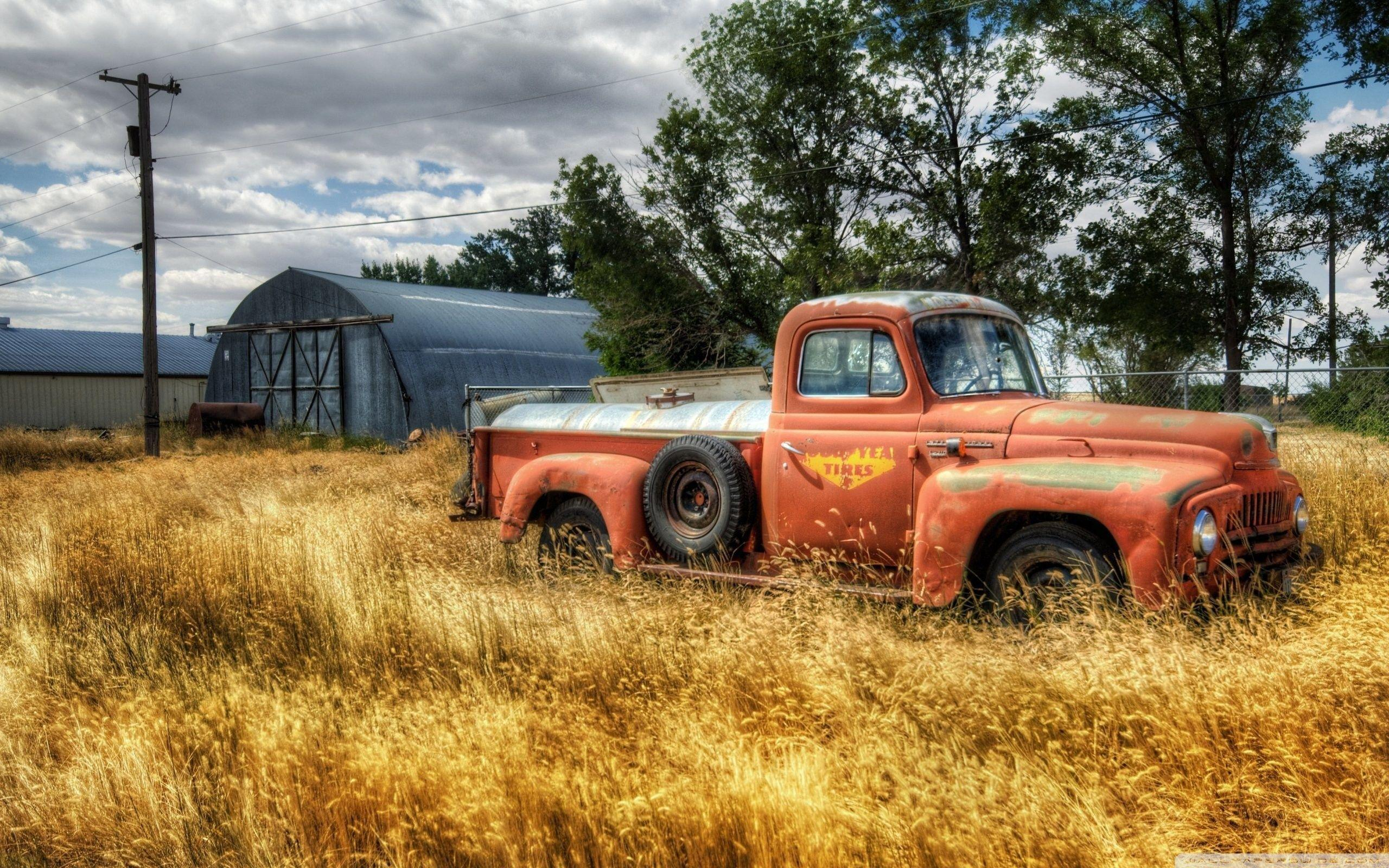 Old Truck Wallpapers   Top Old Truck Backgrounds 2560x1600
