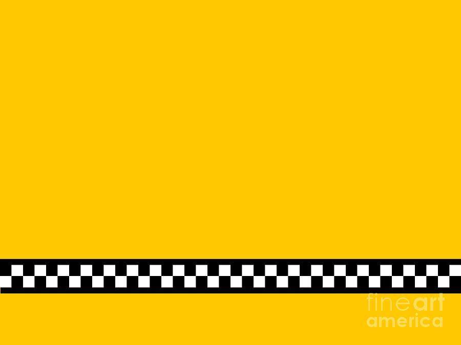 Taxi Background Digital Art by Henrik Lehnerer 900x675