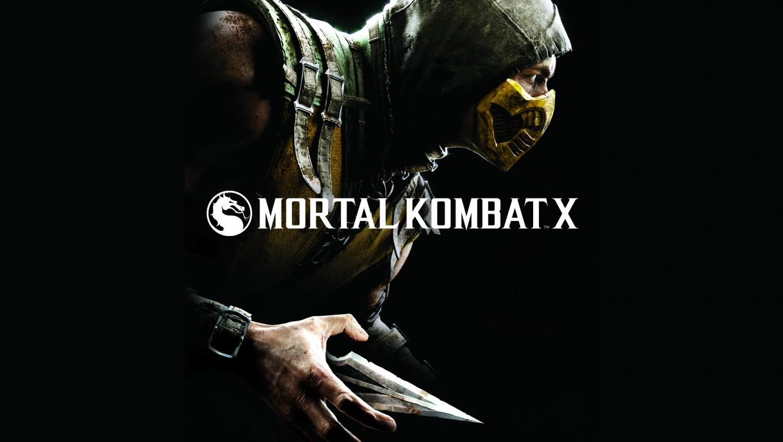 In Mortal Kombat X 2015 Video Game Poster HD Wallpaper Download 1360x768