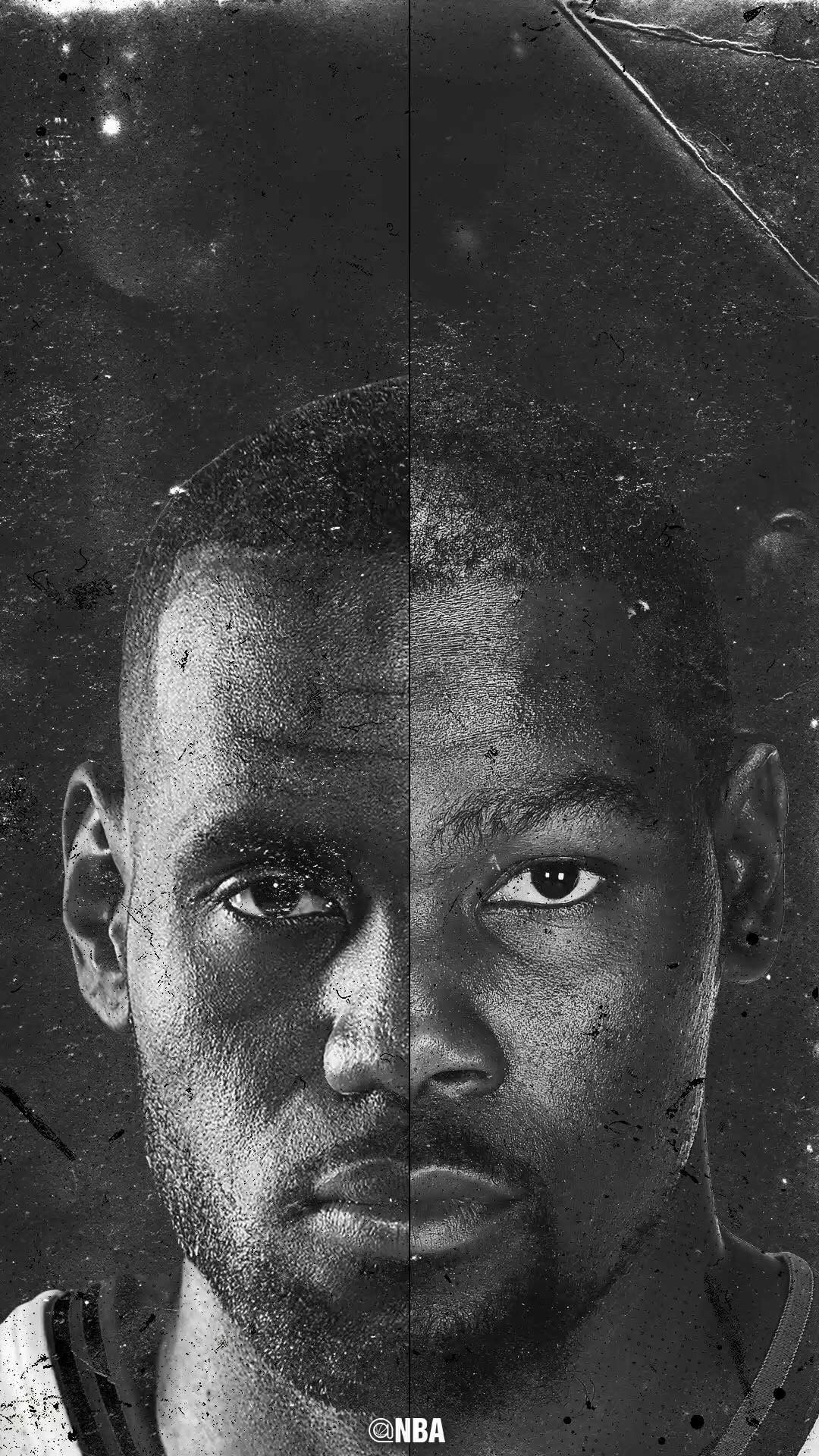 NBA wallpaper Lebron James and Kevin Durant Nba lebron james 1080x1920