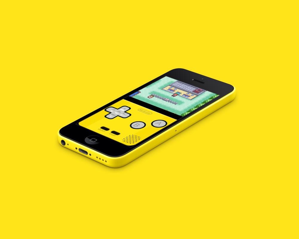 iphone 5c yellow wallpaper wallpapersafari