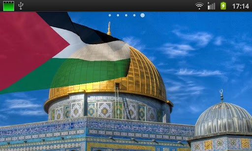 Palestine Flag LWP App for Android 512x307