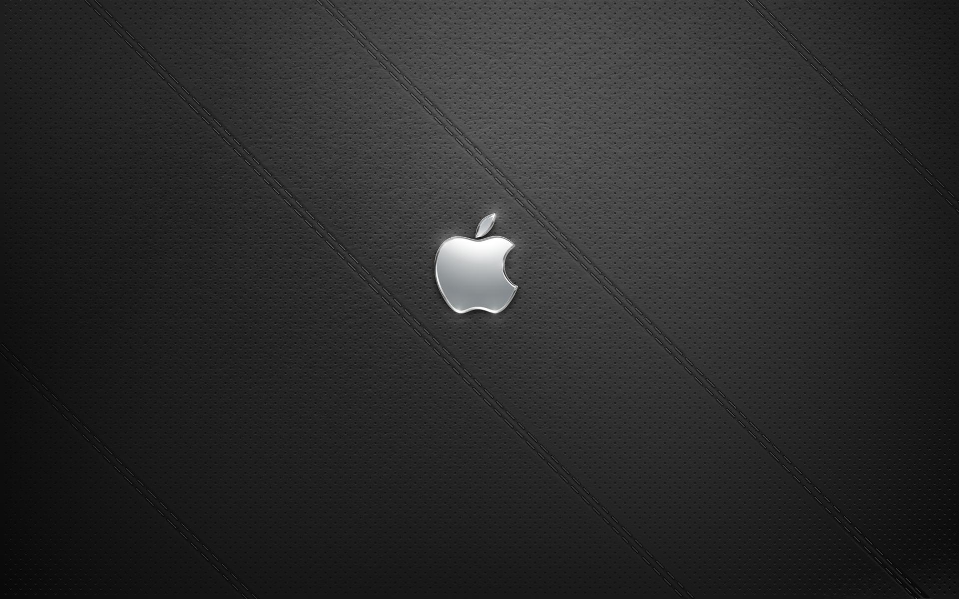 The Art of Adam Betts Black Leather Apple Desktop Background 1920x1200