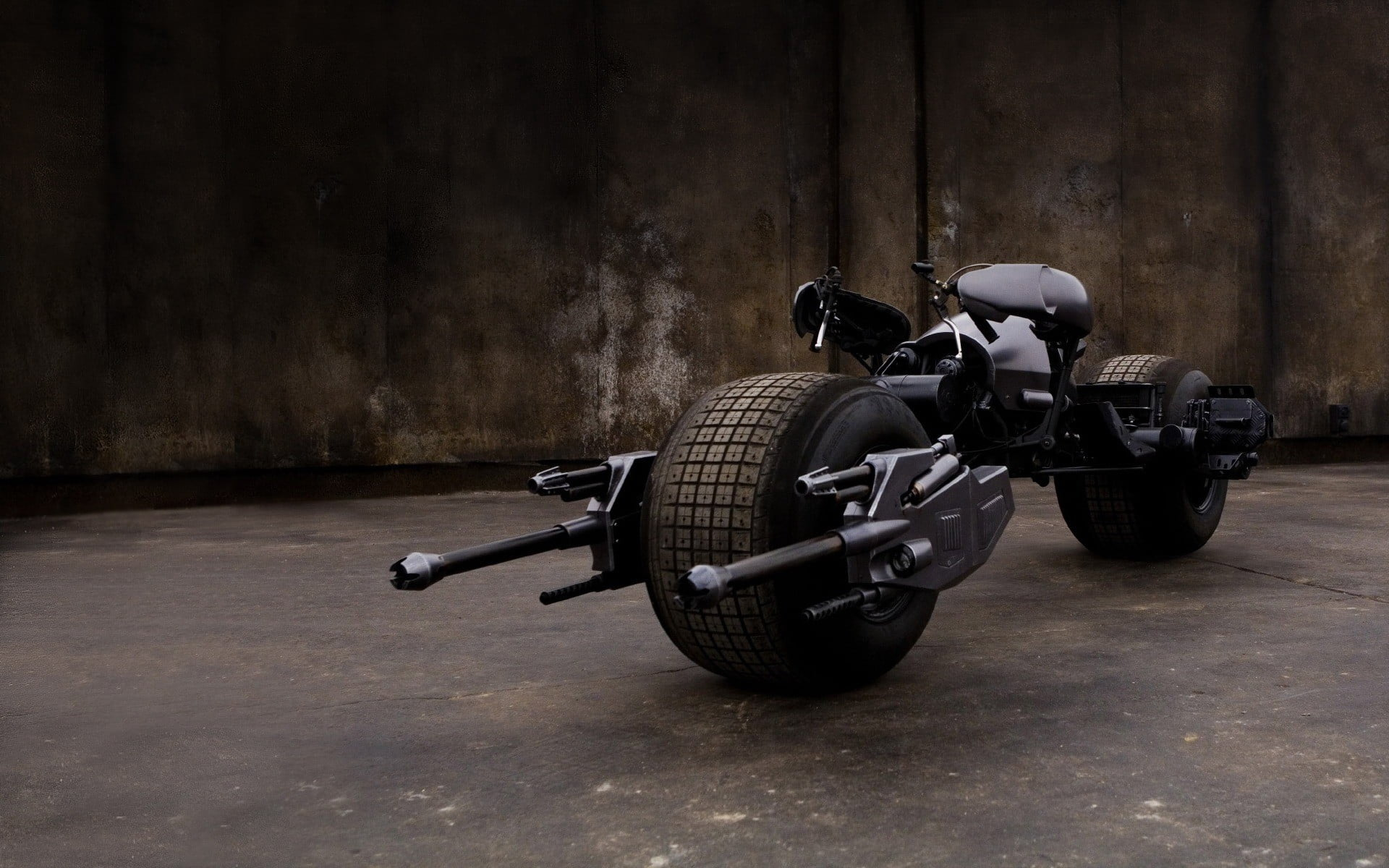 Batmans Bat bike motorcycle Batman Batpod The Dark Knight HD 1920x1200