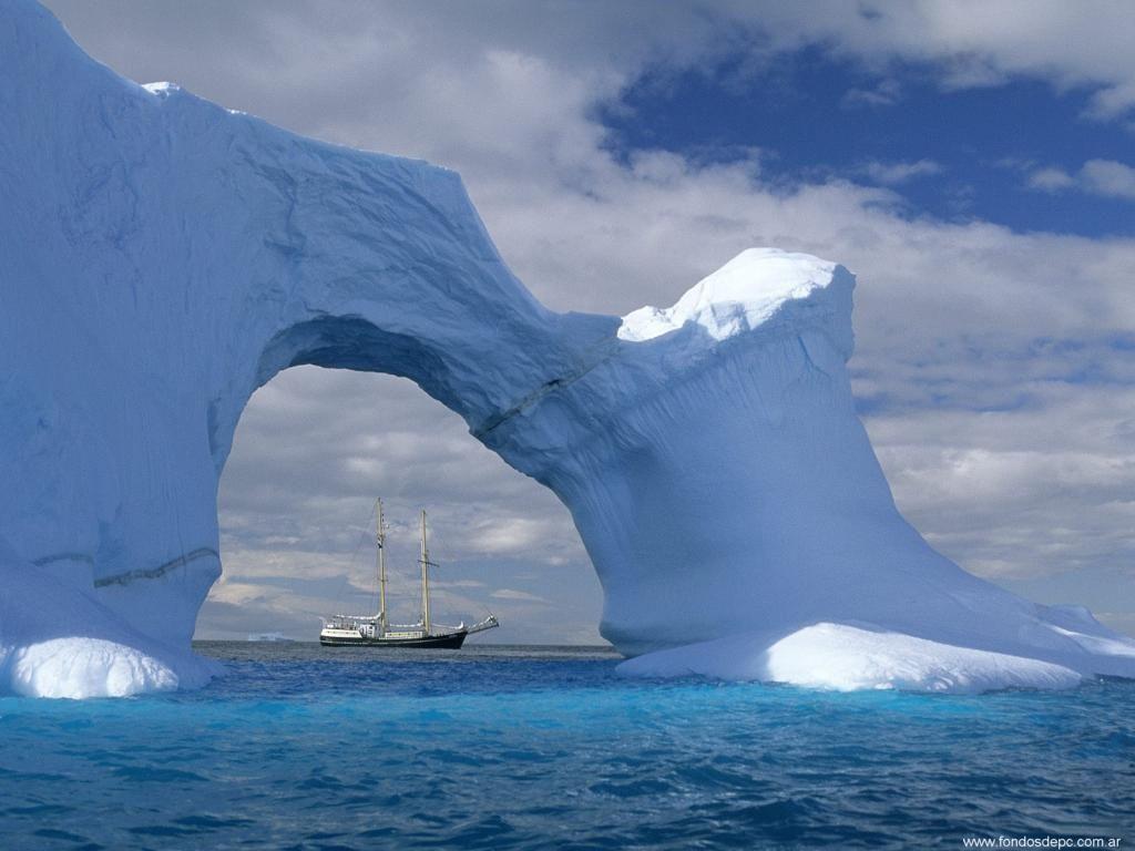 Para descargar este fondo de pantalla de Glaciar gratis haz clic con 1024x768