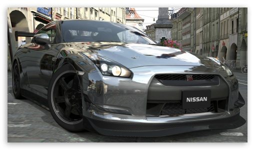 Nissan GTR Chrome HD wallpaper for HD 169 High Definition WQHD QWXGA 510x300