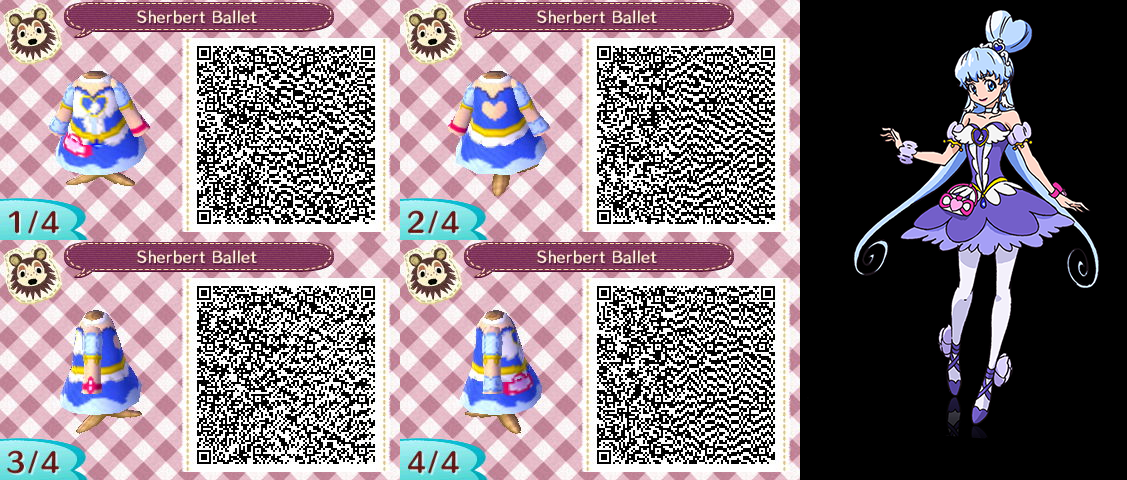 Free Download Animal Crossing Qr Codes Sherbet Ballet By