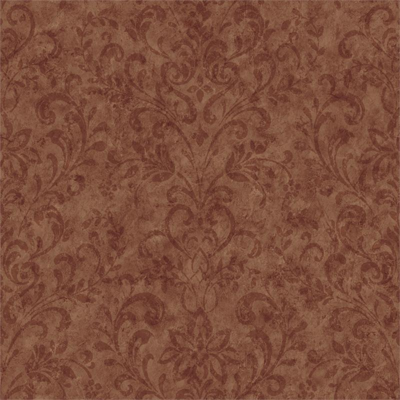Burgundy Country Damask Wallpaper   Rustic Country Primitive 800x800