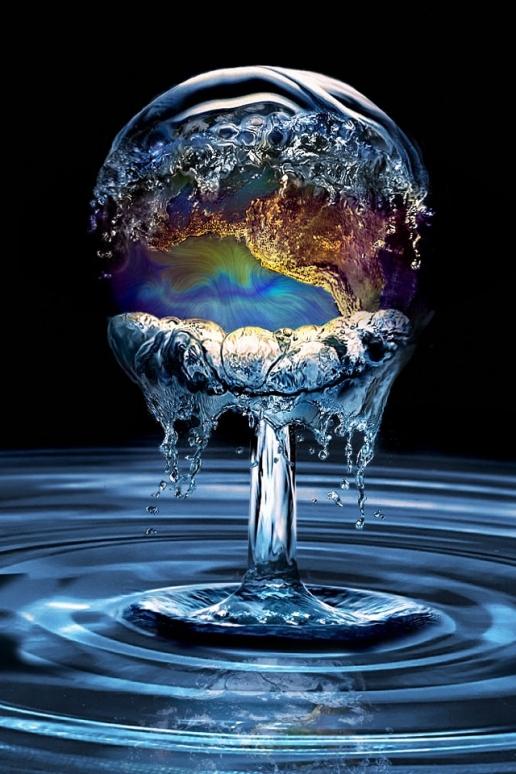 Earth Water iPhone HD Wallpaper 516x774