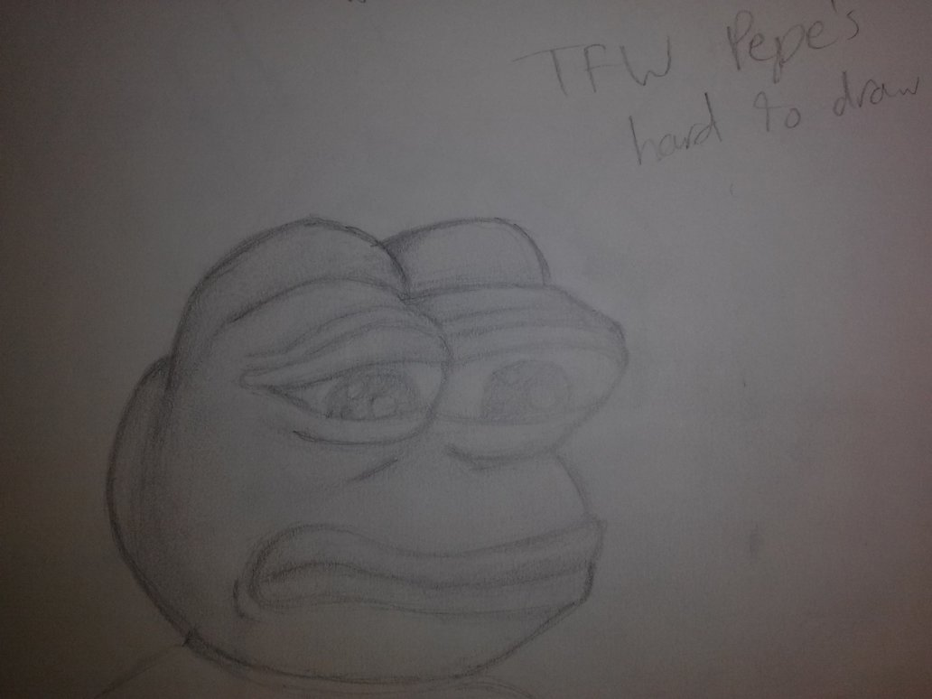 Rare Pepe doodle by Jade Everstone 1032x774