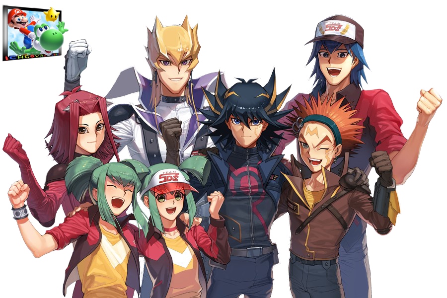 Yu Gi Oh 5Ds Team 5Ds Fan Art Render by Ichgovastolorde on 900x600
