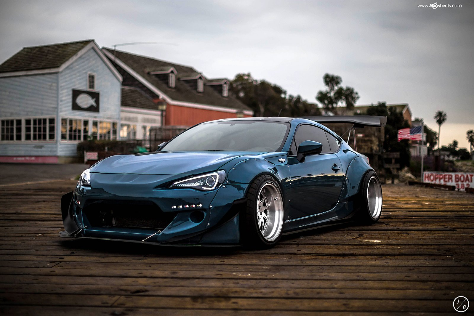 Scion Frs Rocket Bunny Wallpaper Wallpapersafari
