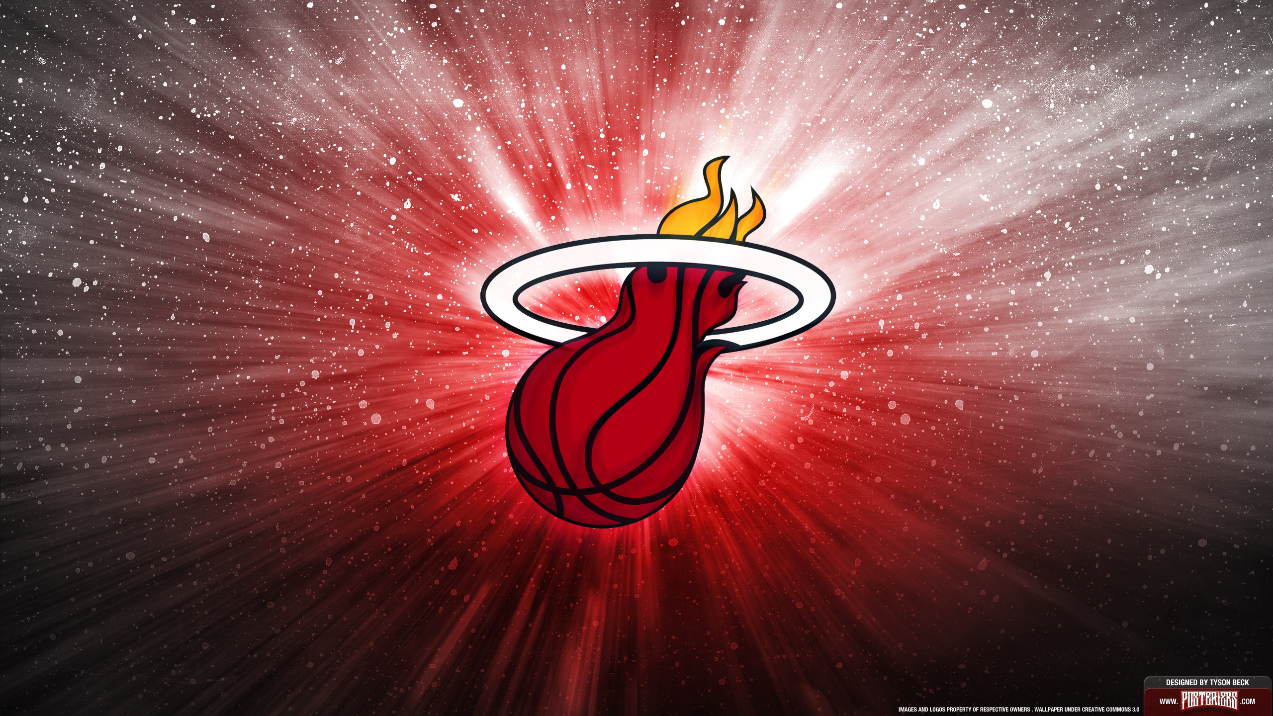 Miami Heat Wallpaper PC Laptop 36 Miami Heat Pictures in FHD 2560x1440