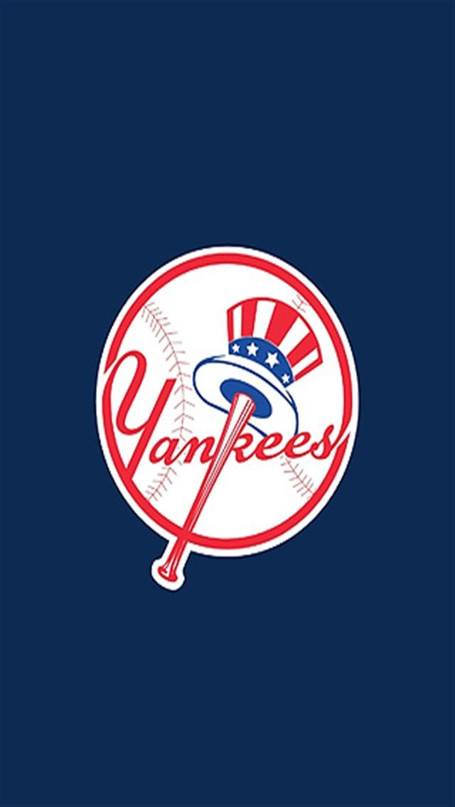 York Yankees 2 LOGO iPhone Wallpapers iPhone 5s4s3G Wallpapers 640x1136