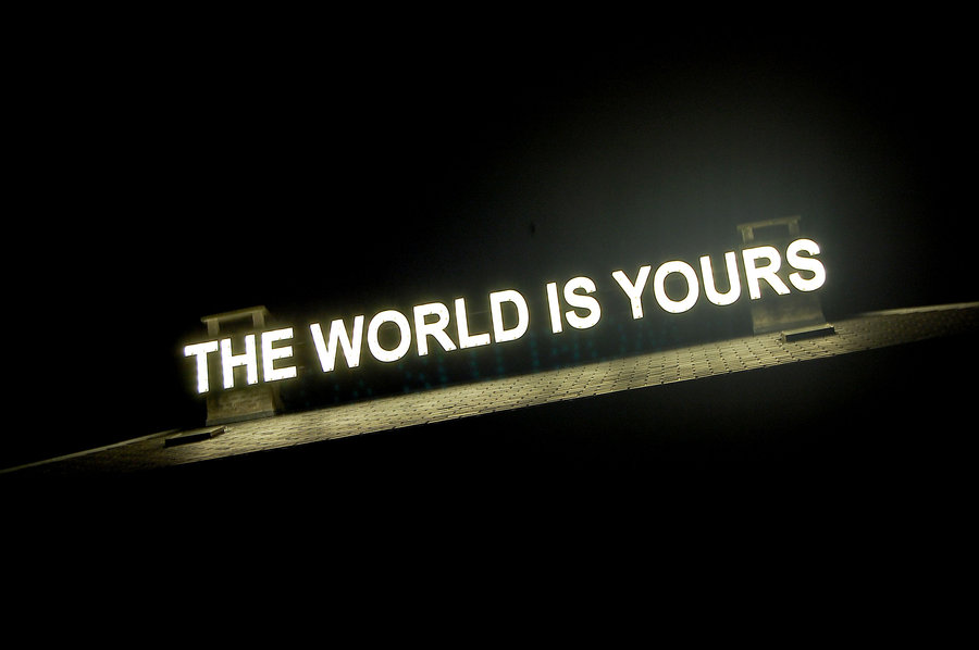 The World Is Yours Wallpaper Wallpapersafari