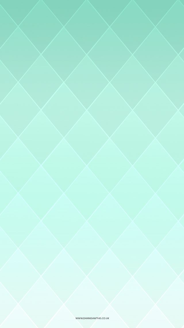 Diamond Gradient Mint tjn Wallpapers for ipod Pinterest 640x1136