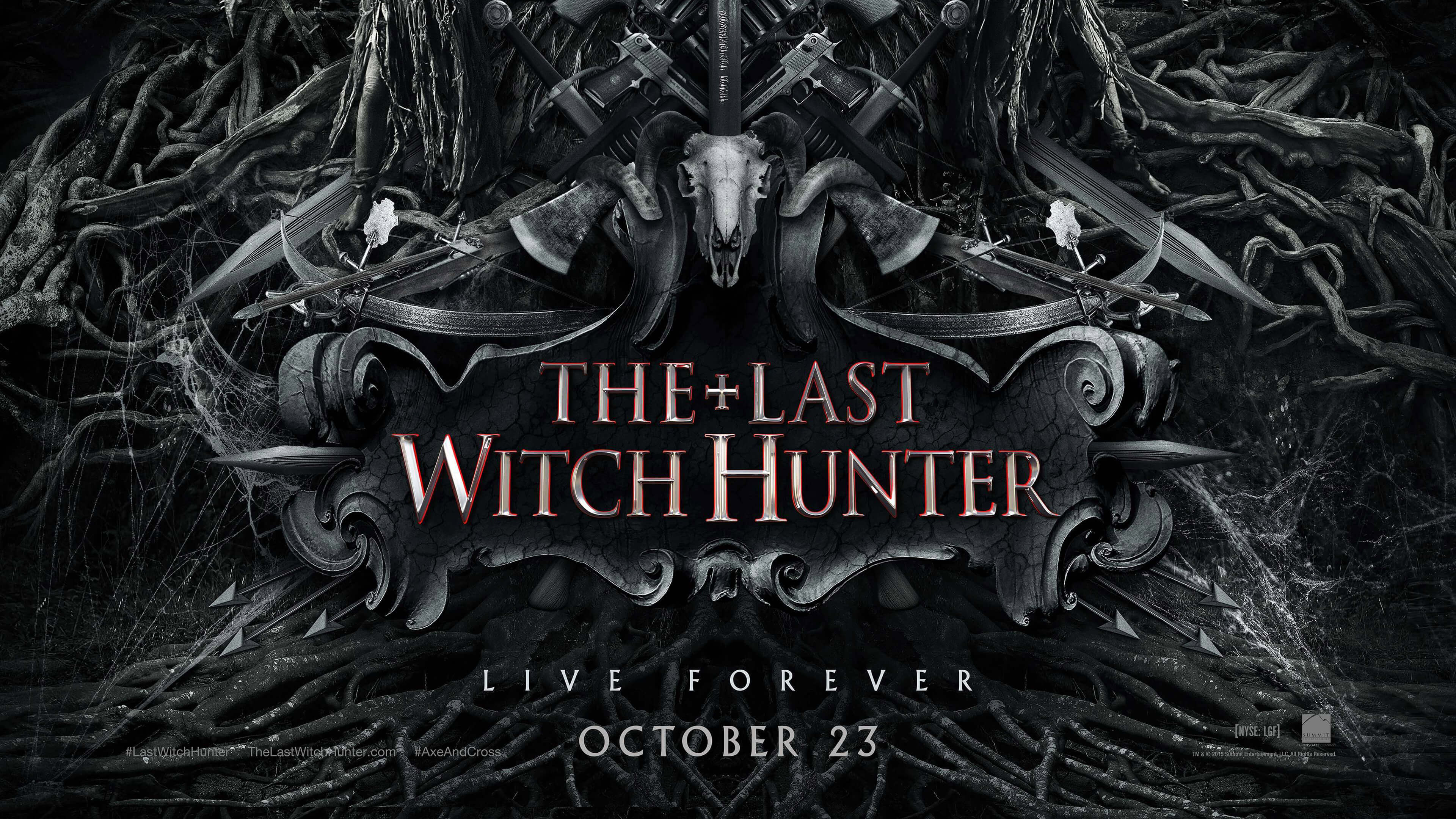 The Last Witch Hunter 2015 Ultra HD Movie Poster Wallpaper 3840x2160