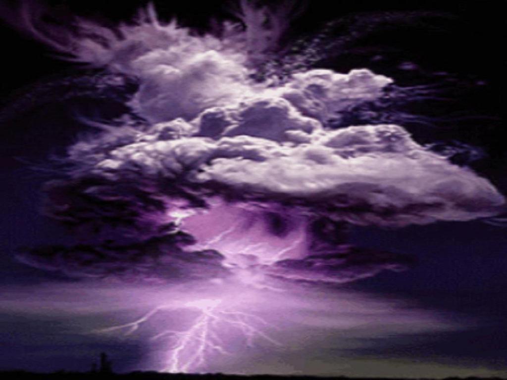 Screensavers Lightning Storm Great World 1024x768