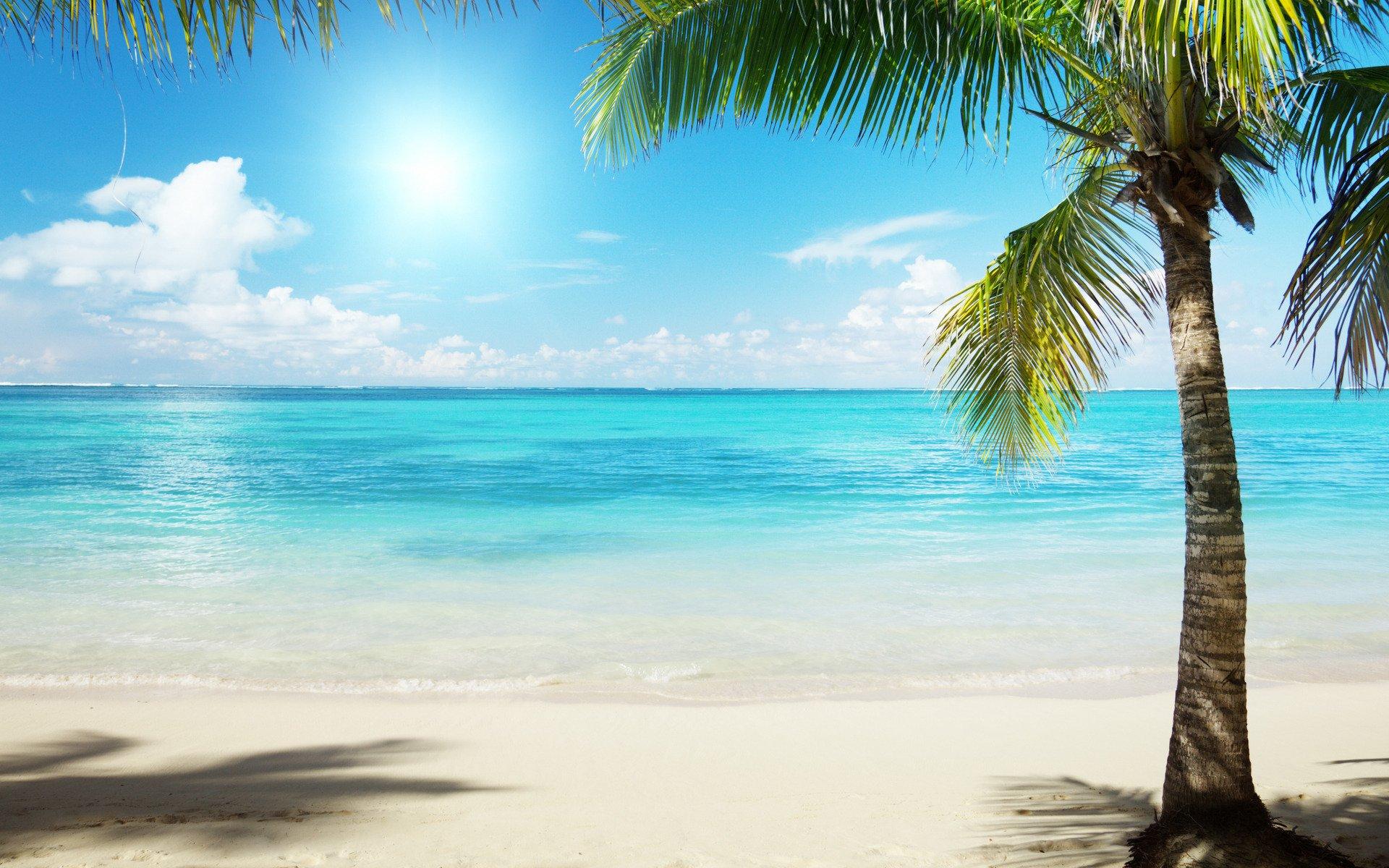 Summer Beach Scenes Wallpaper - WallpaperSafari
