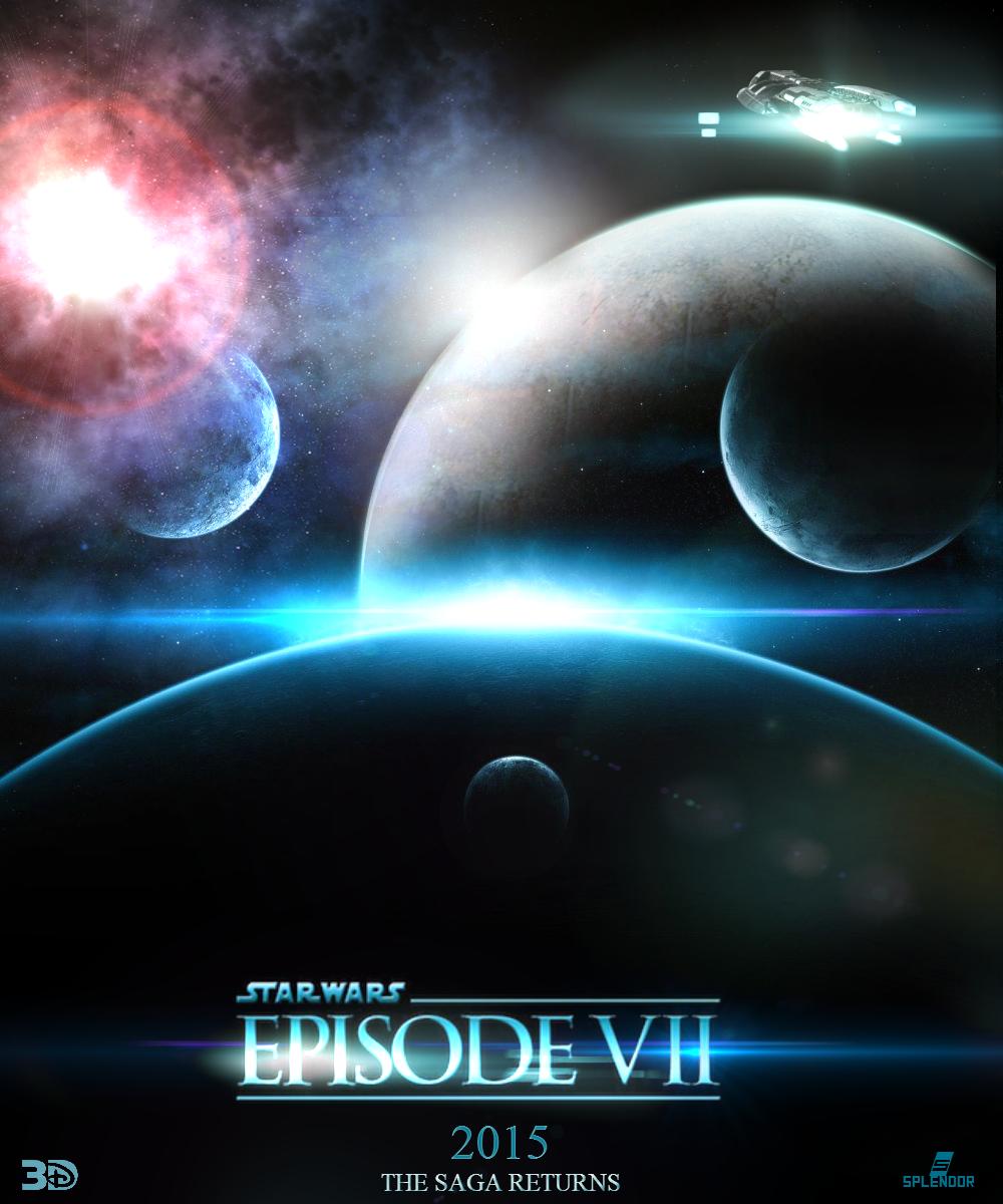 Star Wars Episode 7 movie poster JJ Abrams by SplendorEnt on 1000x1200