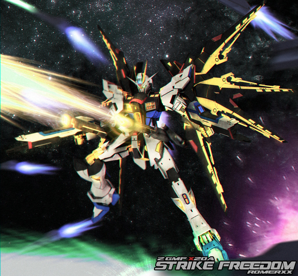 Strike Freedom Gundam Wallpaper Zgmf x20a strike freedom 1024x948