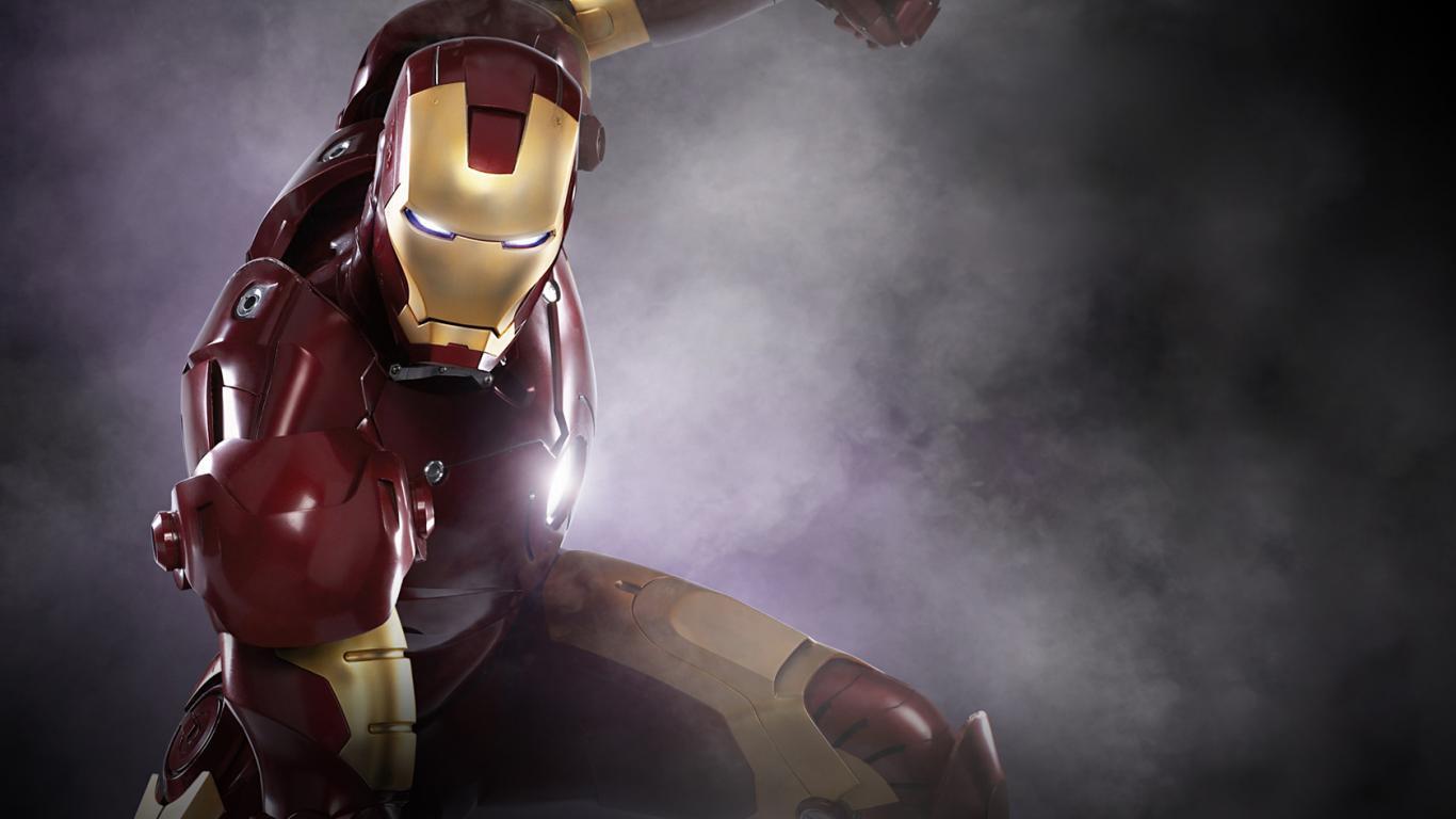 Iron Man HD 1366x768 1366x768