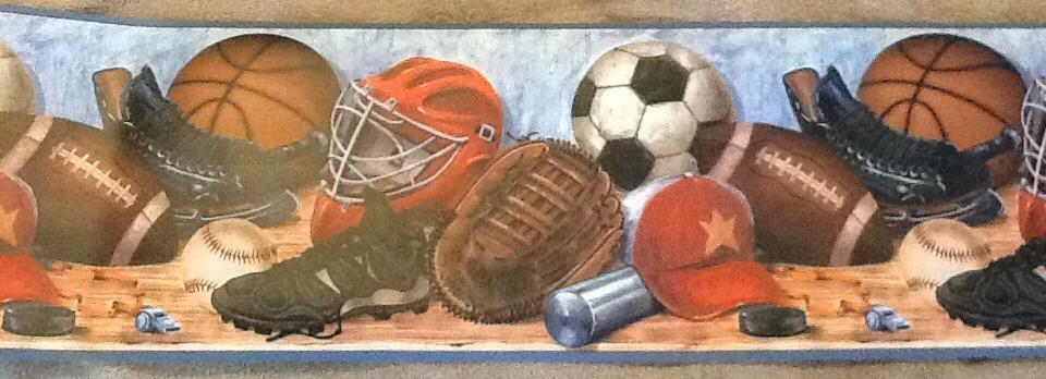 Fun Sports Wallpaper Border