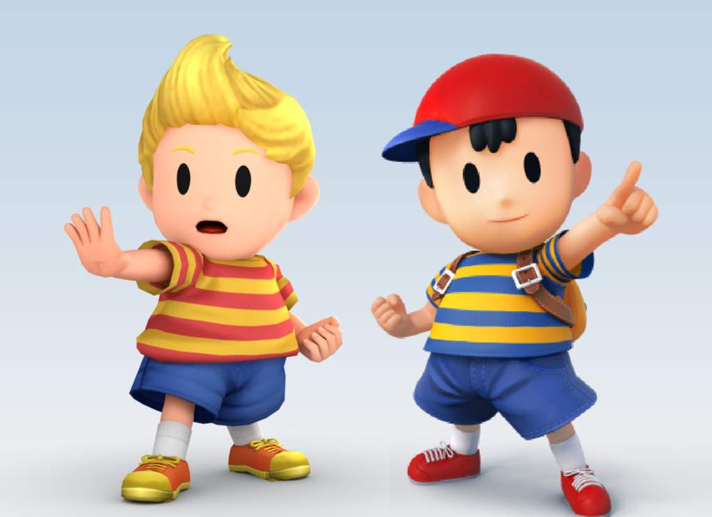 SSB4 Team Ness and Lucas by SsbbNessFan 1024x744