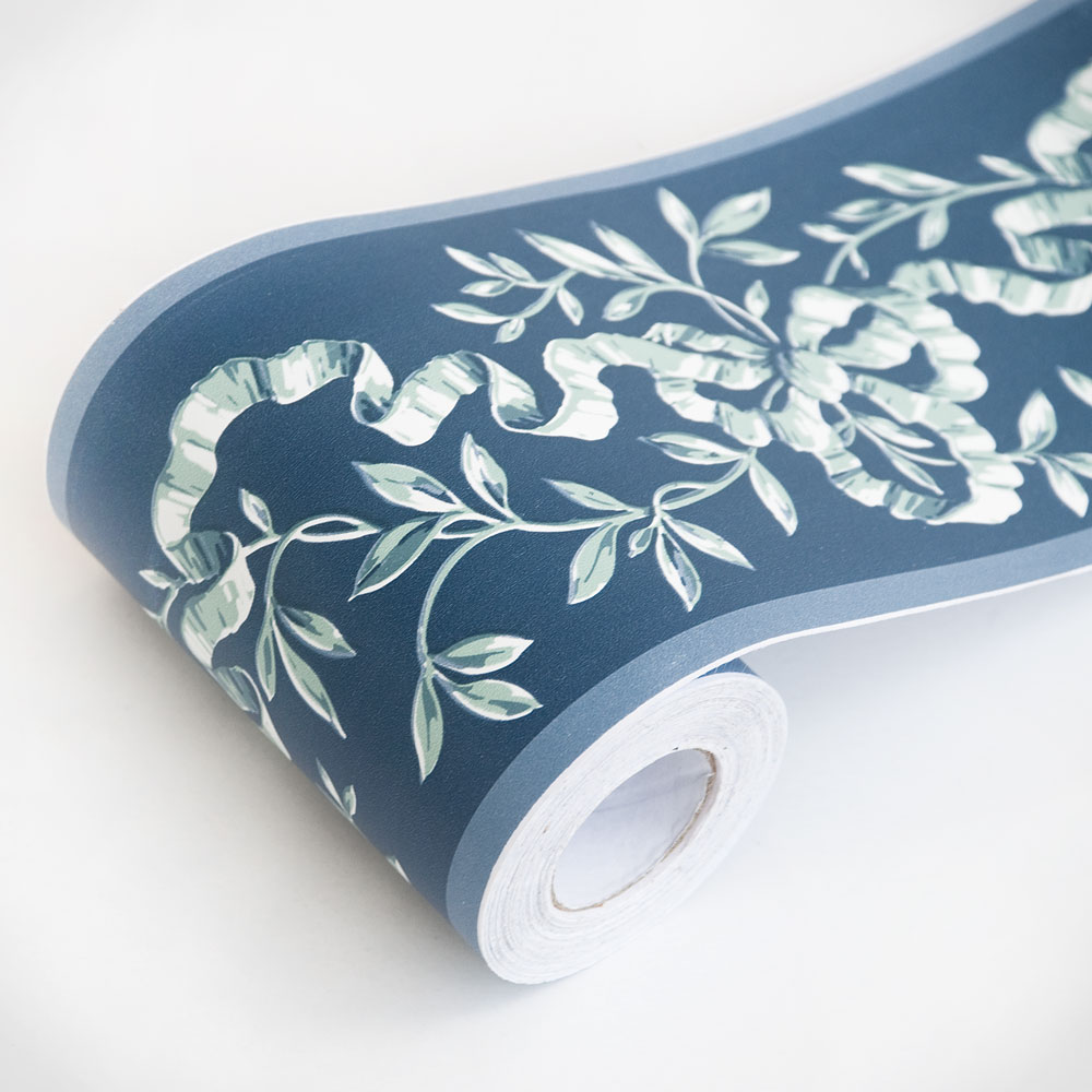 Ribbon Vines   Self Adhesive Wallpaper Borders Home Decor Sample 1000x1000