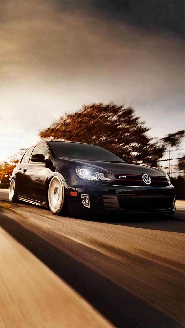 Volkswagen Golf GTI Wallpaper   iPhone Wallpapers 640x1136