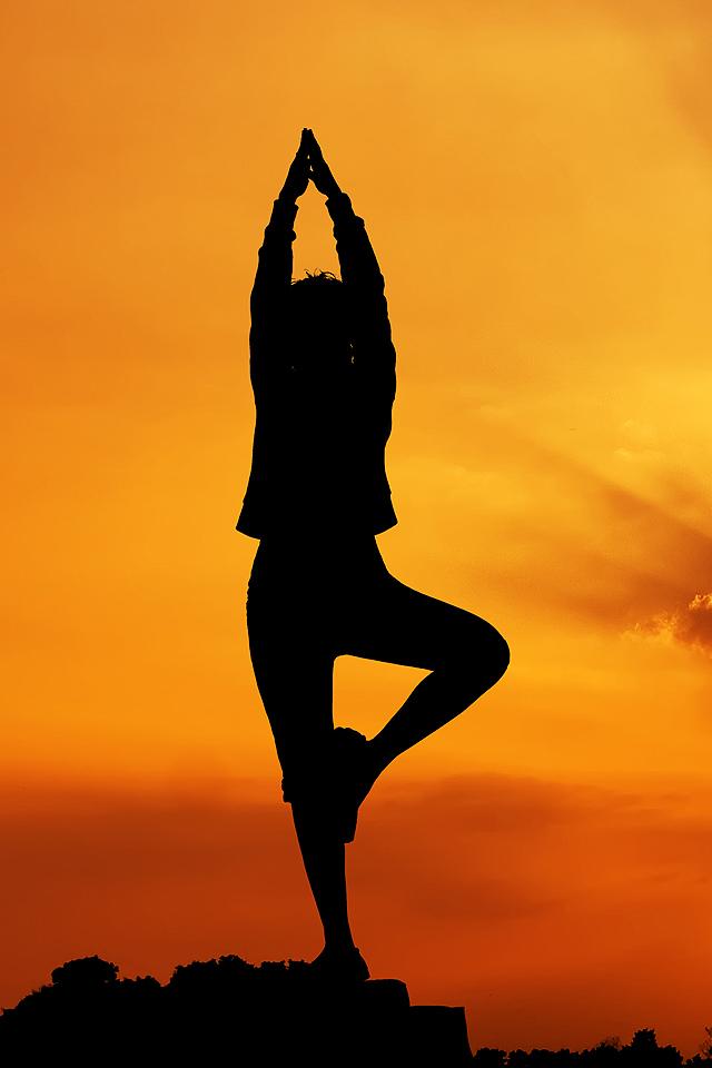 Yoga Poses Wallpaper Wallpapersafari