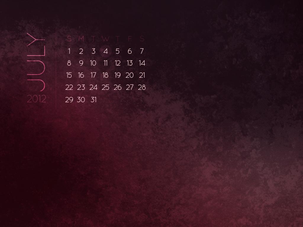 with calendar 1024x768