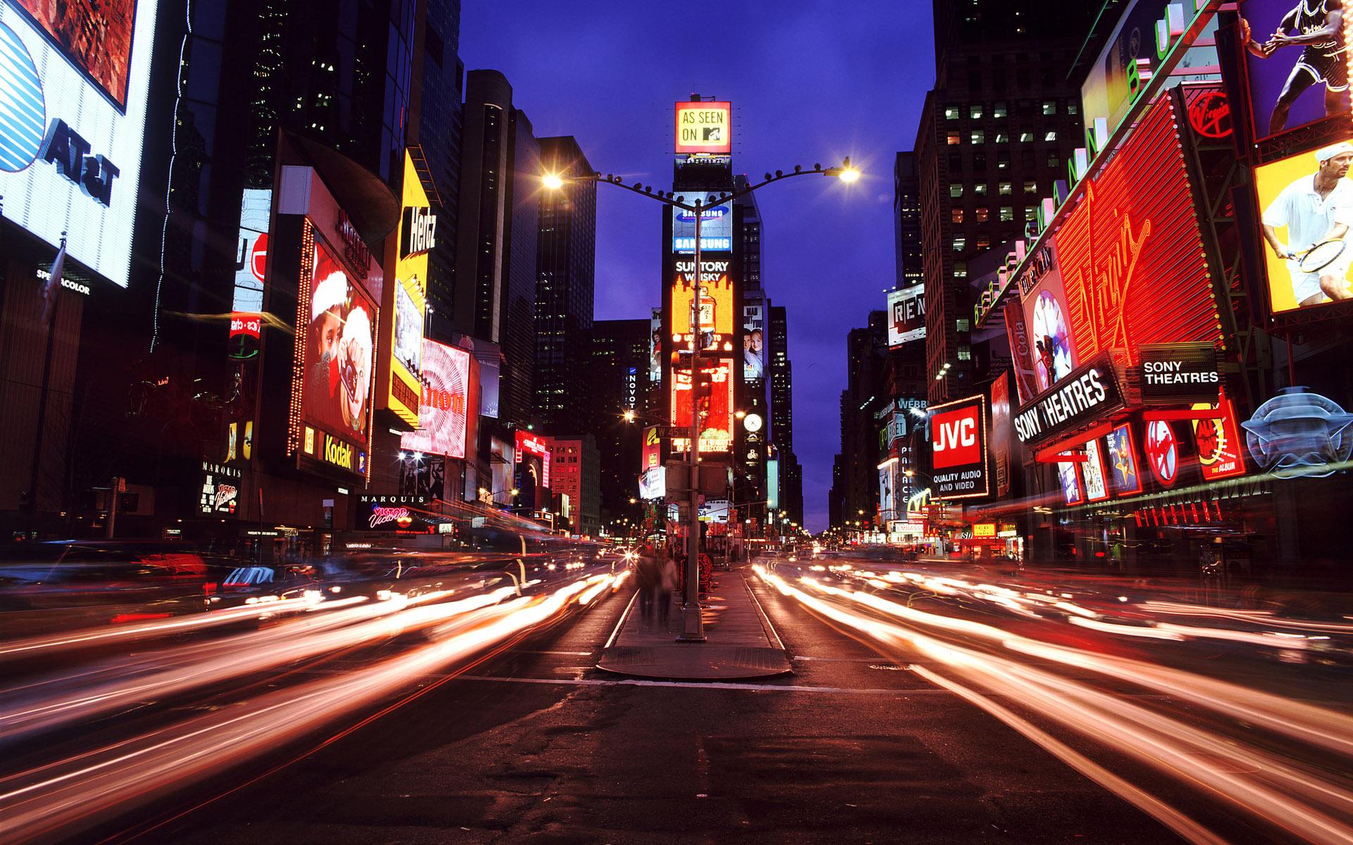 City Street at Night Background Wallpaper HD 21 hd background hd 1920x1200