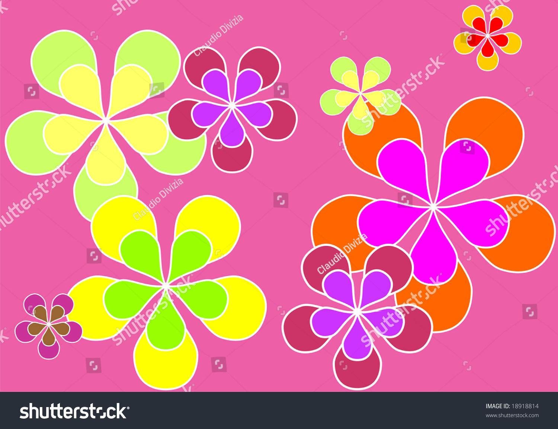 foto de Free download Psychedelic Sixties Flower Power Background ...