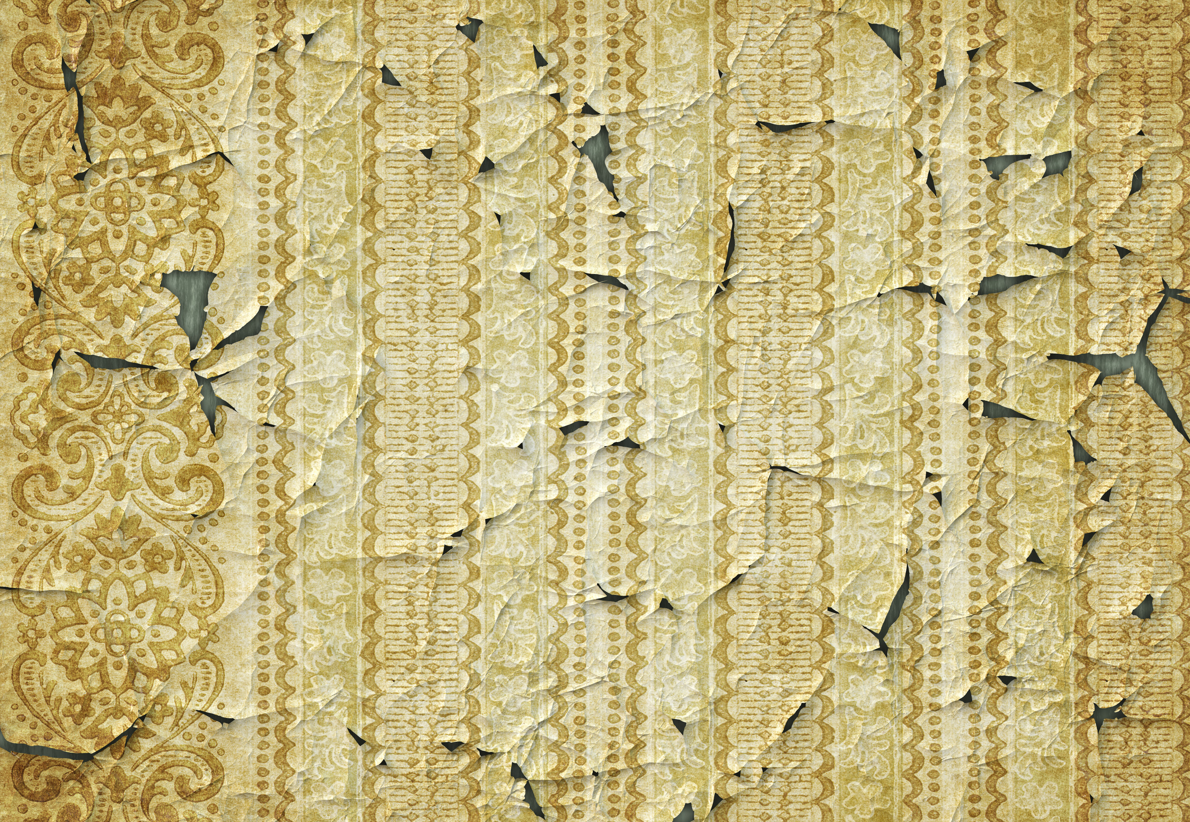 rendered torn wallpaper paper background texture 3808x2631