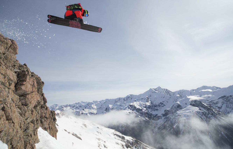 Wallpaper mountains ski freeride freeride backcountry armada 1332x850