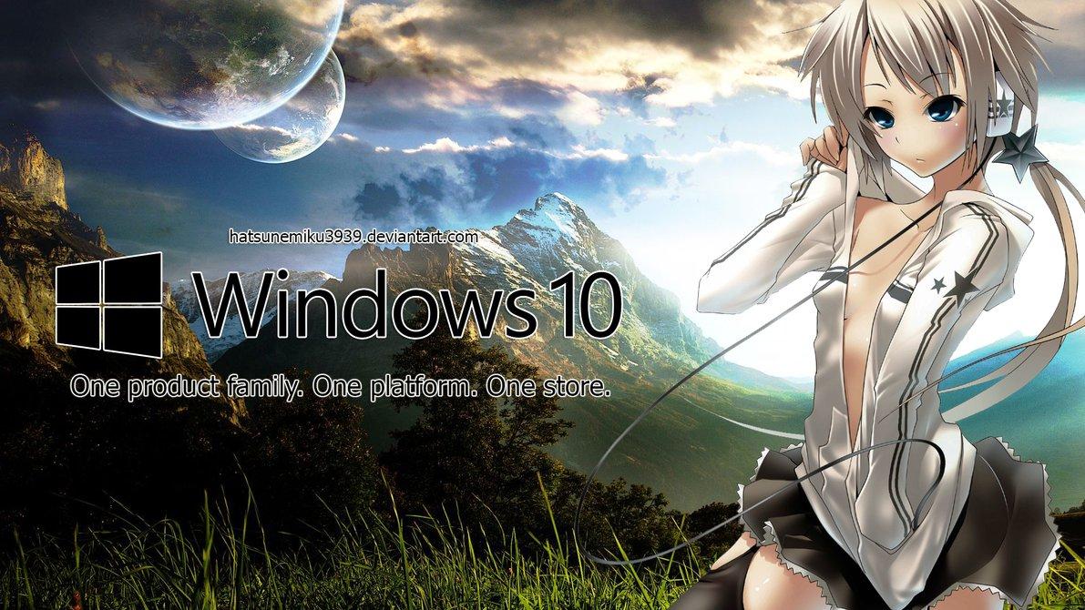 Windows 10 wallpaper anime wallpapersafari - Anime screensaver windows 10 ...